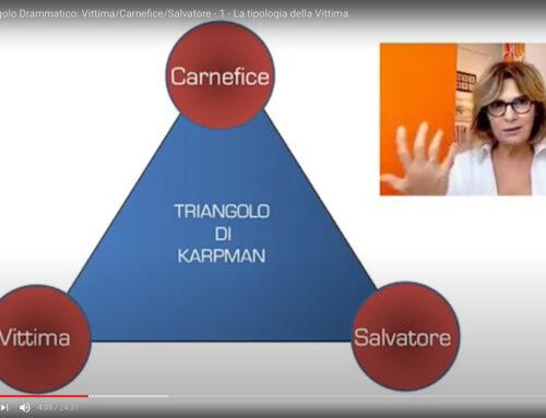 Il Triangolo Drammatico: Vittima, Carnefice, Salvatore.  Parte prima: la Vittima